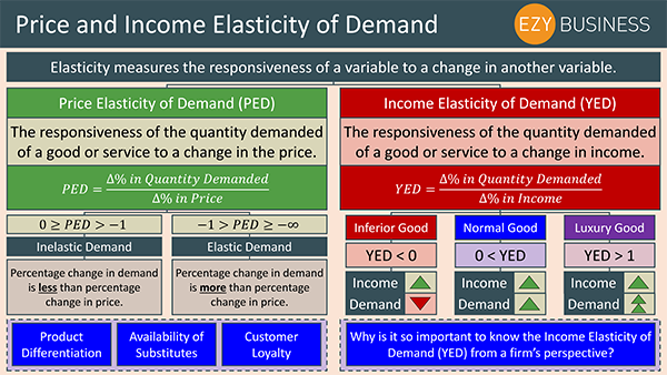 Business Studies Recap Day 12 - Price and Income Elasticity of Demand