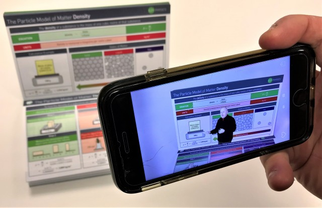 EzyScience Snapshots - Augmented Reality Brings Science to Life