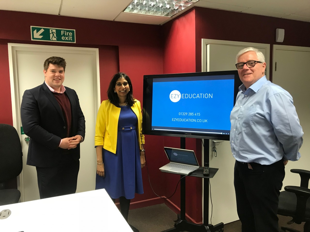 Visit by Suella Braverman MP
