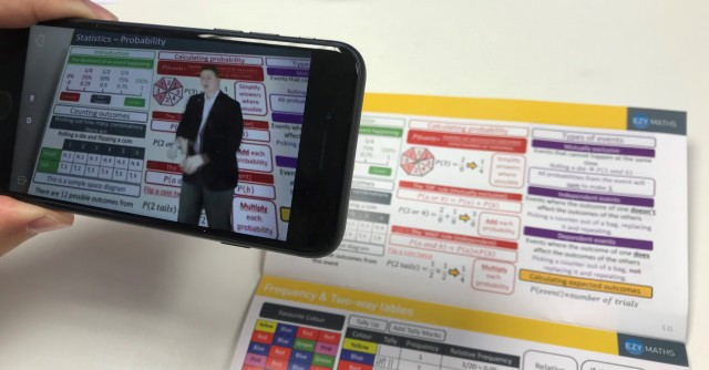 EzyMaths Snapshots - Augmented Reality Brings Maths to Life