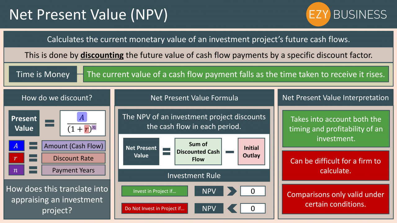 Business Studies Year 13 revision Day 19 - Net Present Value
