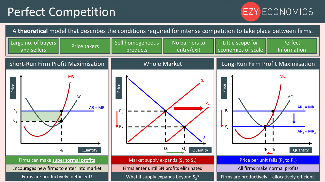 Economics Year 13 revision Day 6 - Perfect Competition